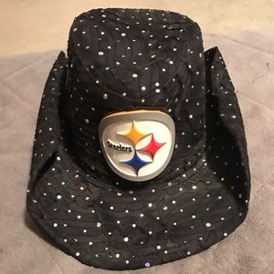 Accessories - Pittsburgh Steelers cowgirl hat